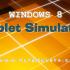 Windows 8 Developer Preview: Tablet Simulator