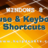 Windows 8 Consumer Preview: Mouse and Keyboard Shortcuts