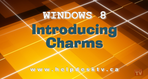 Windows 8 Introduces Charms